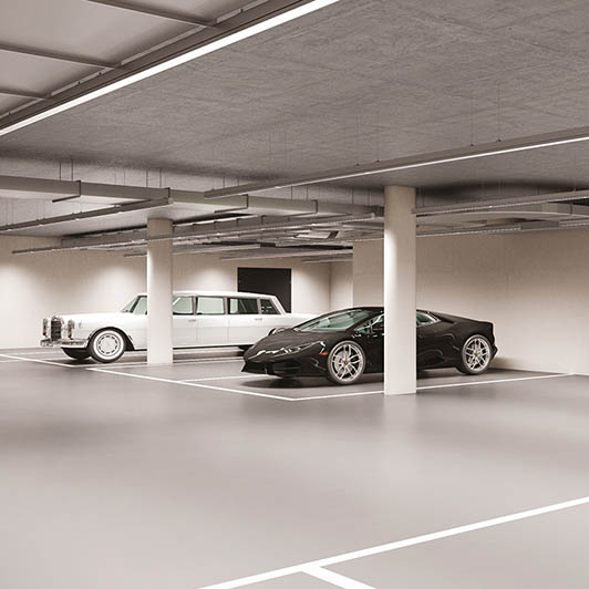Classic-Car Storage Spaces