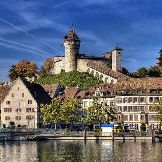 Schaffhausen's Historic City Center